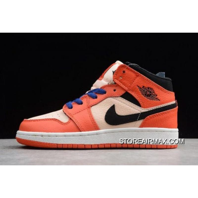 7760c44982cf Women Air Jordan 1 Mid GS Turbo Green/Black-Hyper Pink BQ6931-800 ...