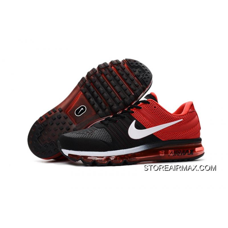 nike air max 2017 kpu mens running shoes red black nz