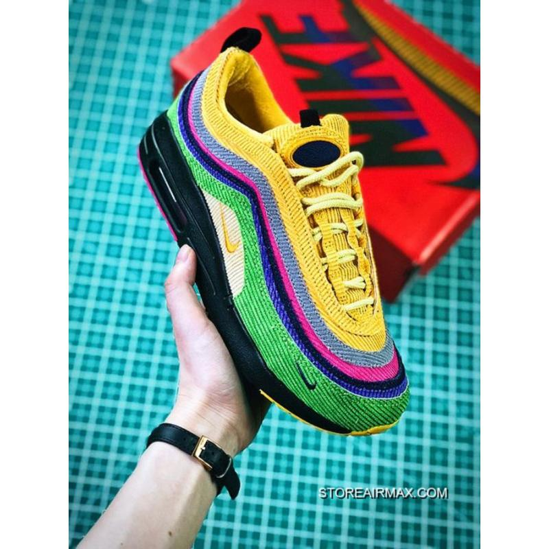 New Style Women Sean Wotherspoon Nike Air Max 97 Hybrid SKU 175065-251 ... 22bd69e9e