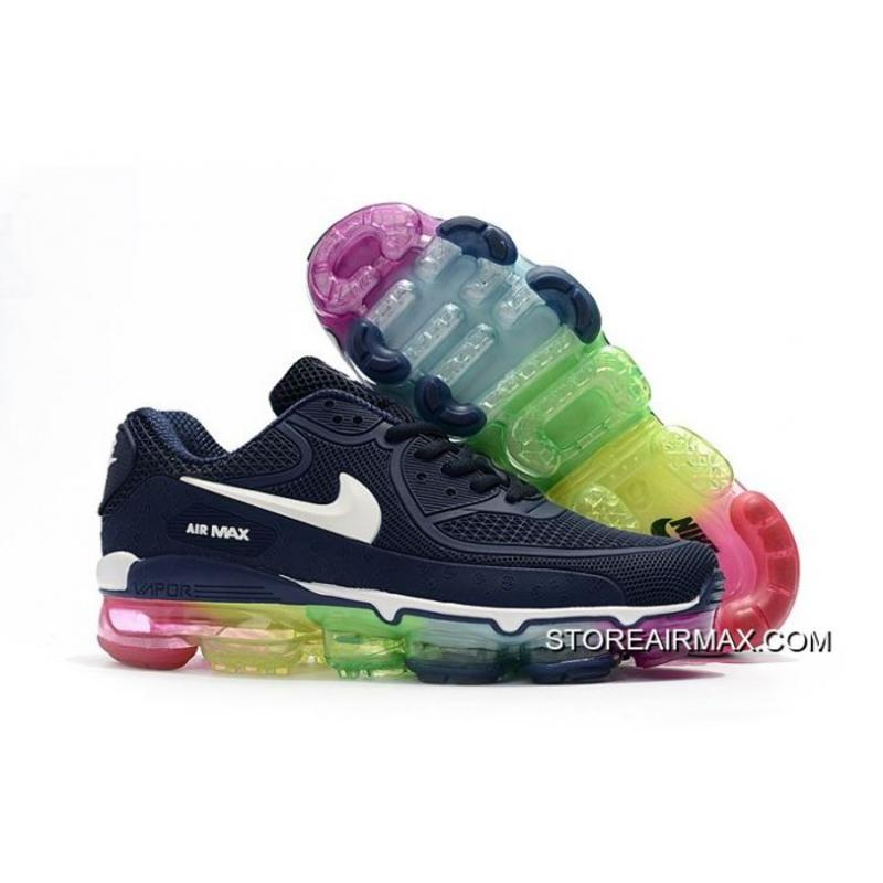 0cda36bc2f77 Men Nike 2018 Air VaporMax 90 Running Shoe KPU SKU 142989-314 Outlet ...