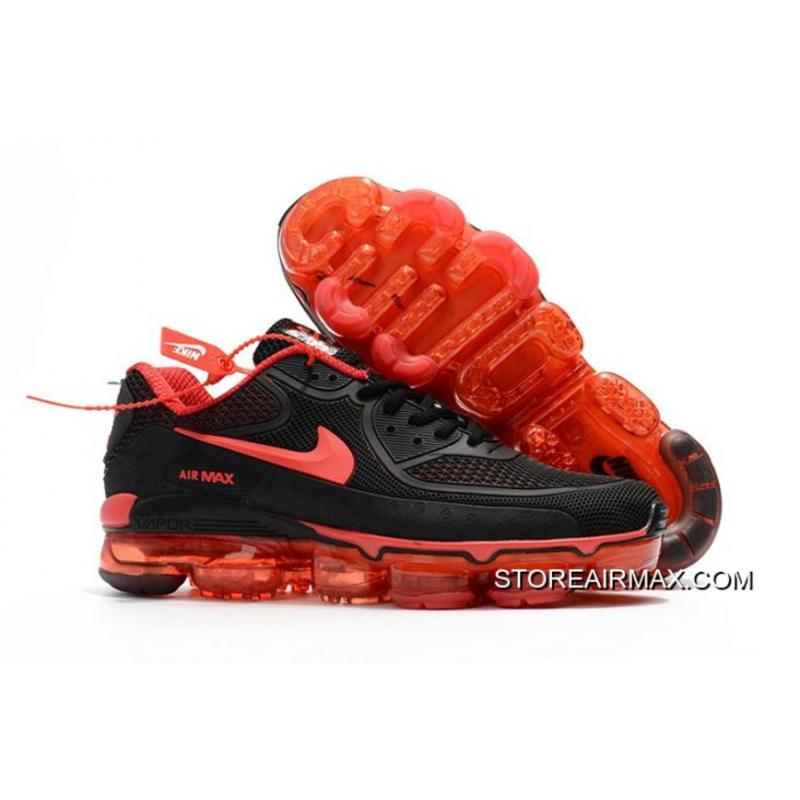 Discount Men Nike 2018 Air VaporMax 90 Running Shoe KPU SKU36305-312 ...