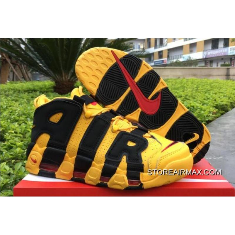 brand new 7b50d b3624 Big Deals Bruce Lee Nike Air More Uptempo Kill Bill BlackYellow