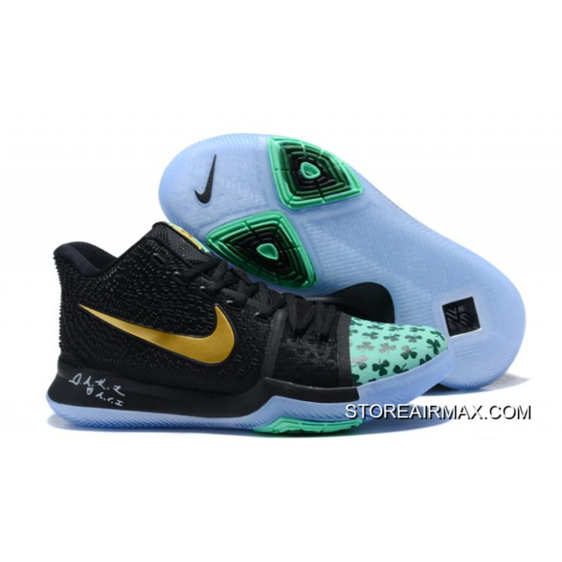 "uk availability f2aa5 65e32 New Release Nike Kyrie 3 ""Shamrock"" PE"
