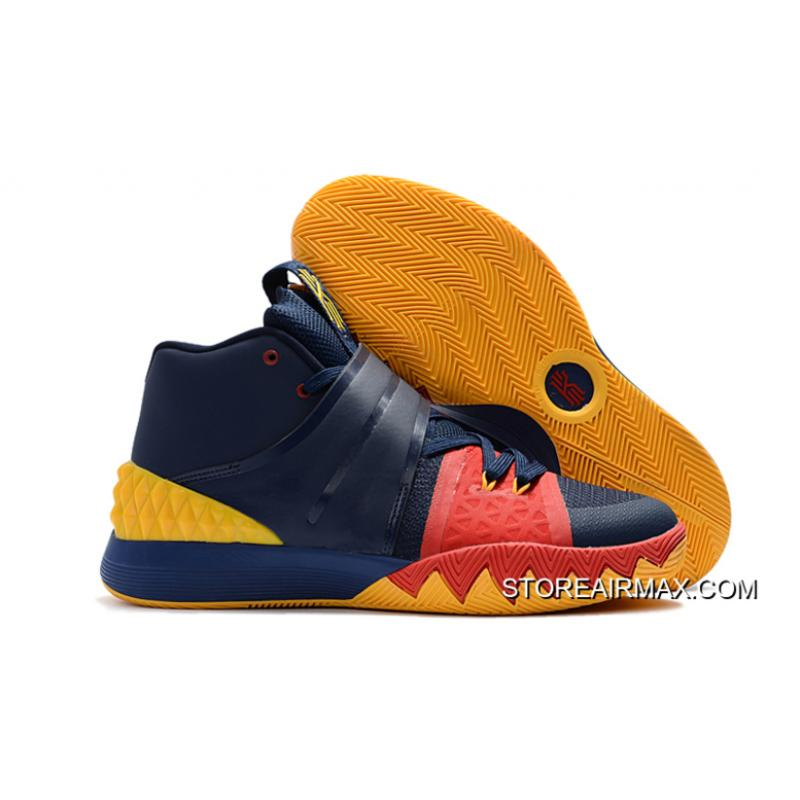 quality design 2462e d2755 Nike Kyrie S1 Hybrid Navy Blue Yellow-Red Copuon ...