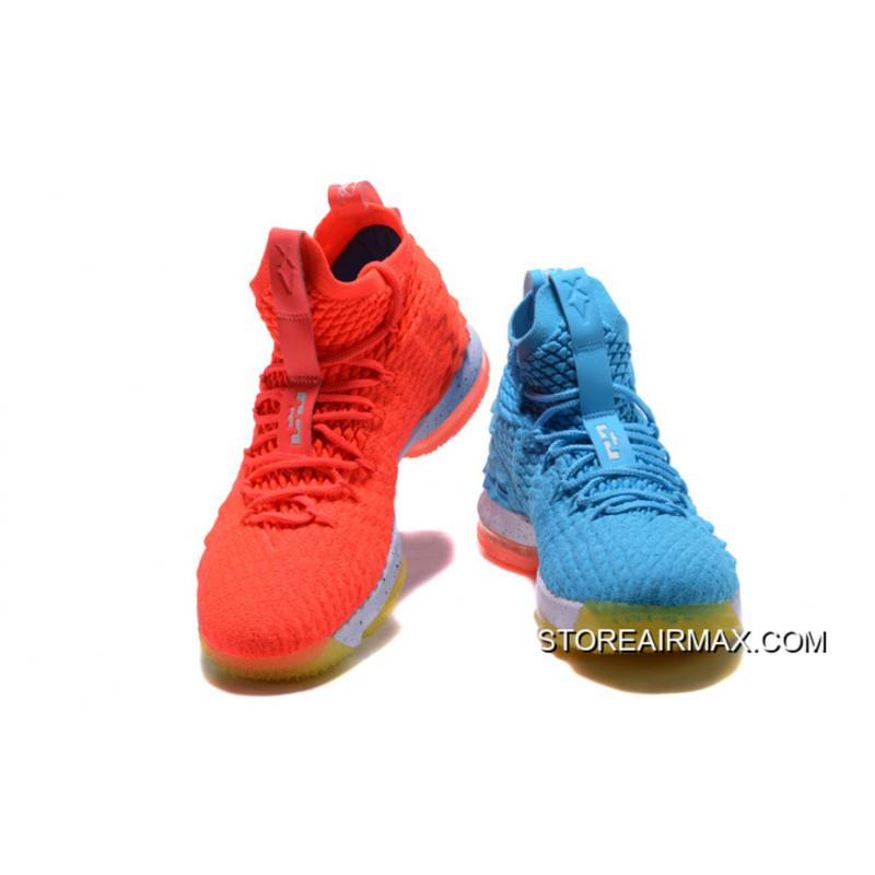 "low priced bbd7a 15500 Nike LeBron 15 ""Fire   Ice"" New Style ..."