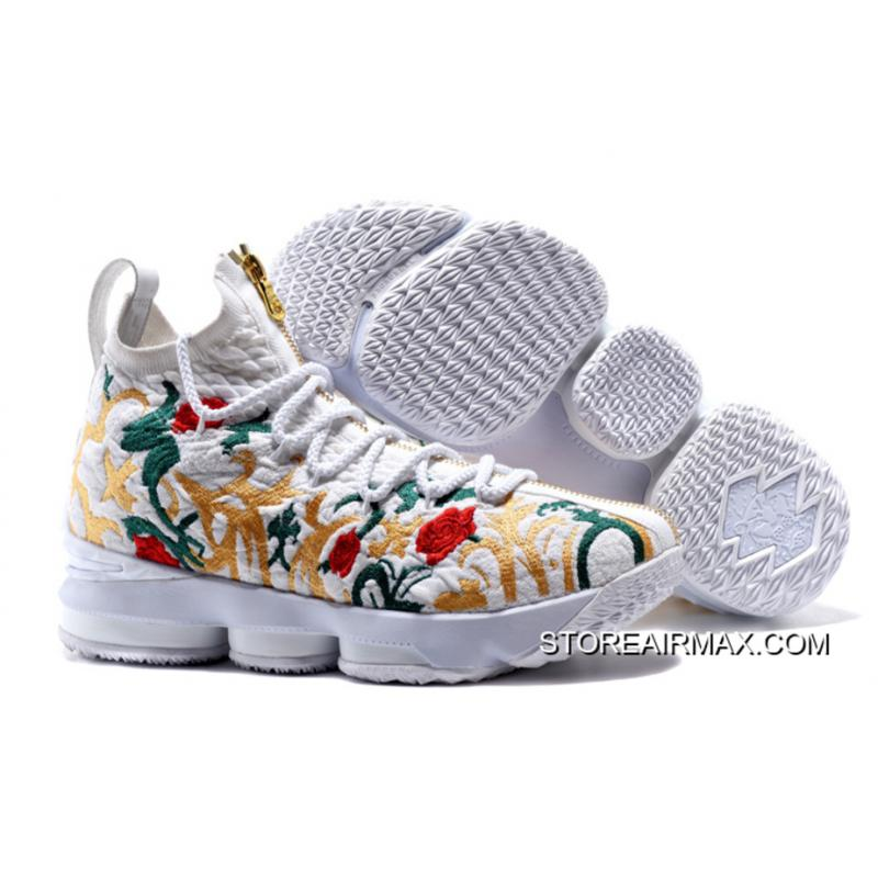 best sneakers 198f5 cabcc LeBron James Rocks Another 15 Inspired by His First Signature