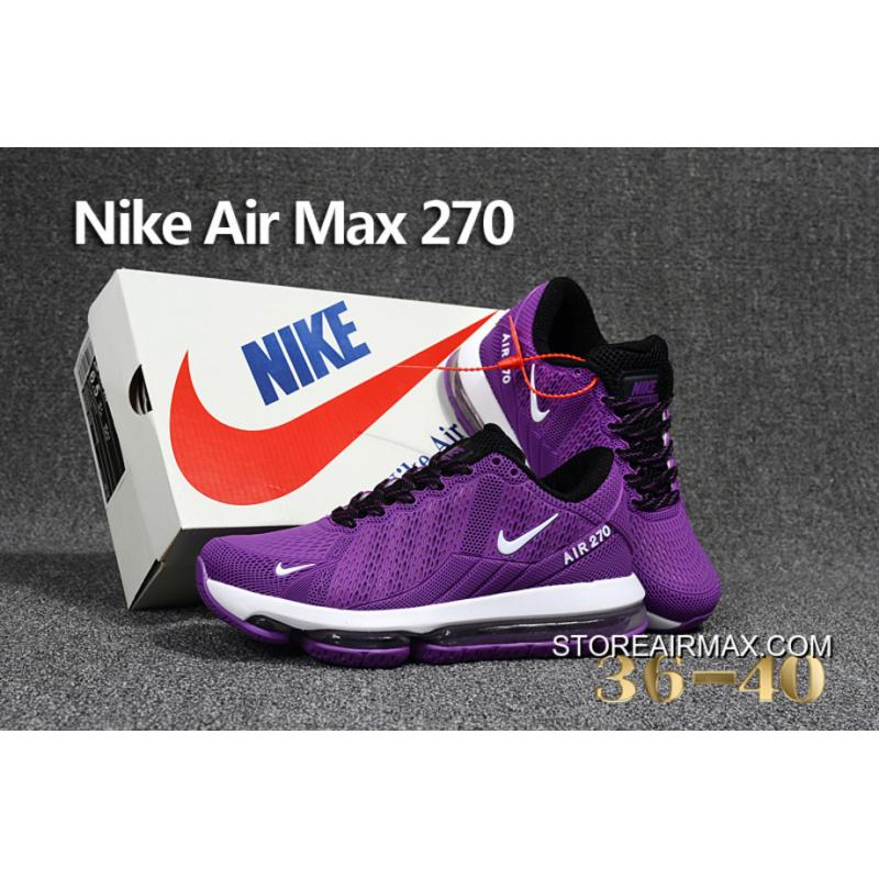 nike air max 270 womens purple