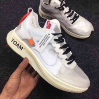 fabea53e4a94 New Style Women OFF-WHITE X Nike Zoom Fly SP Sneakers SKU 109652-