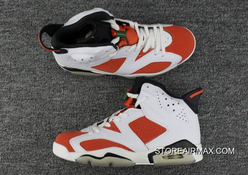"100% authentic d0e8e dc75a Where To Buy Air Jordan 6 ""Gatorade"" Summit White Black-Team Orange"