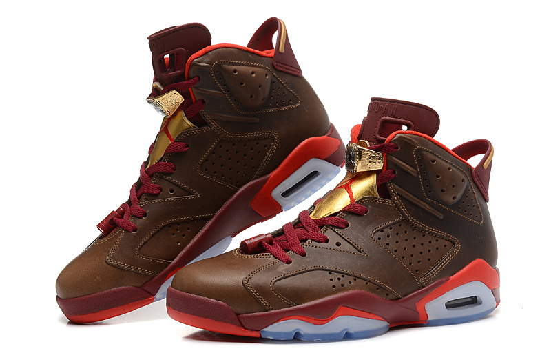 "f36b96e4316e New Air Jordan 6 Retro ""Championship Cigar"" Outlet"