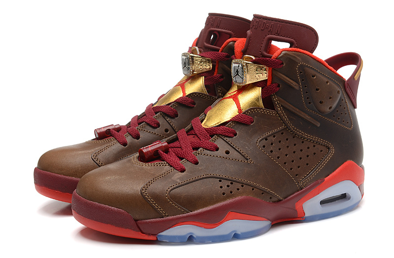 "3181c8d1fec64 New Air Jordan 6 Retro ""Championship Cigar"" Outlet"