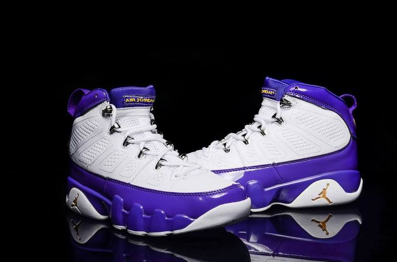 173289b743bc80 ... switzerland air jordan 9 kobe bryant lakers pe top deals cebab cc9f7
