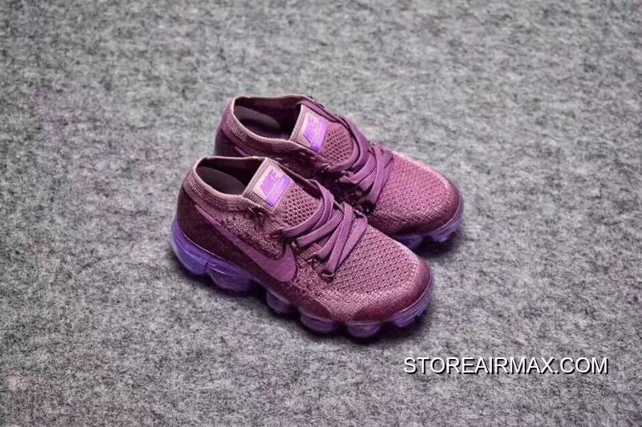 53a1866d2359b Free Shipping Kids Nike Air VaporMax 2018 Flyknit Running Shoe SKU 59558-228