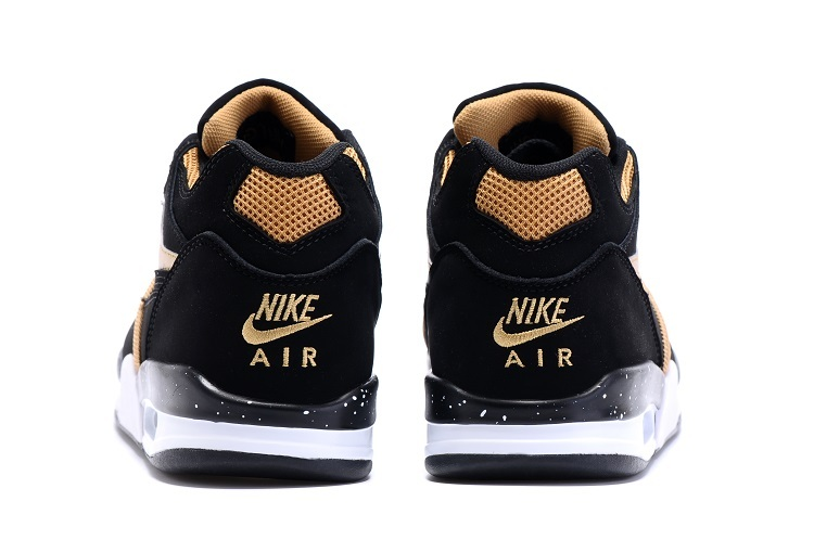 brand new bcfe0 36f02 New Year Deals Nike Air Flight  89 Black Metallic Bronze-White Shoes
