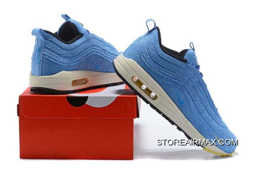 ed6cdc282 Men Sean Wotherspoon Nike Air Max 97 Hybrid SKU 138481-308 For Sale ...