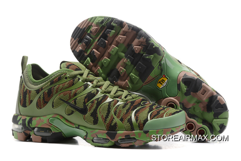 ad1cfe17a10c7 Free Shipping Women Nike Air Max Plus TN Ultra Camouflage Sneaker SKU  143962-222