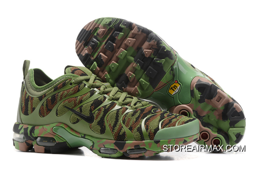 Men Nike Air Max Plus TN Ultra Camouflage Running Shoe SKU:111277 243 New Style
