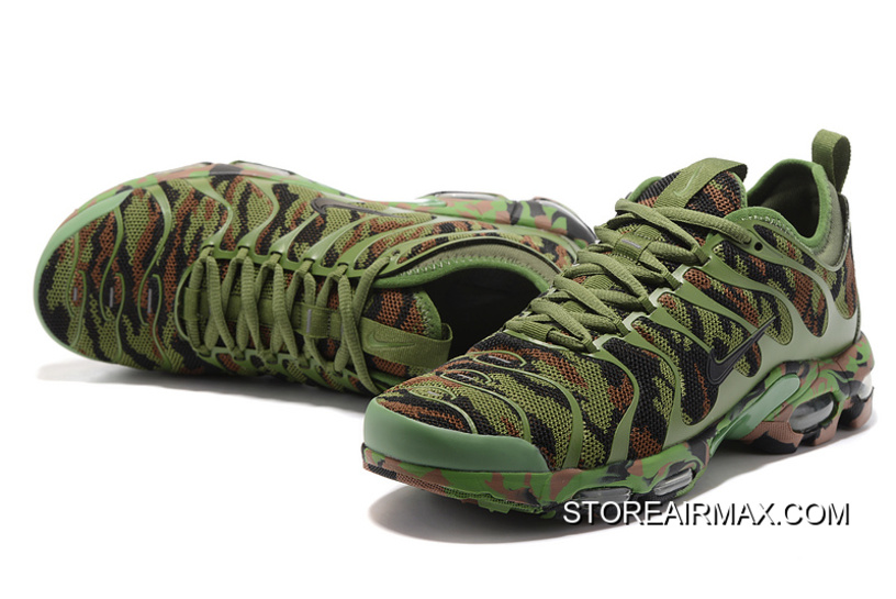 ad9ed182bd325 Men Nike Air Max Plus TN Ultra Camouflage Running Shoe SKU:111277-243 New