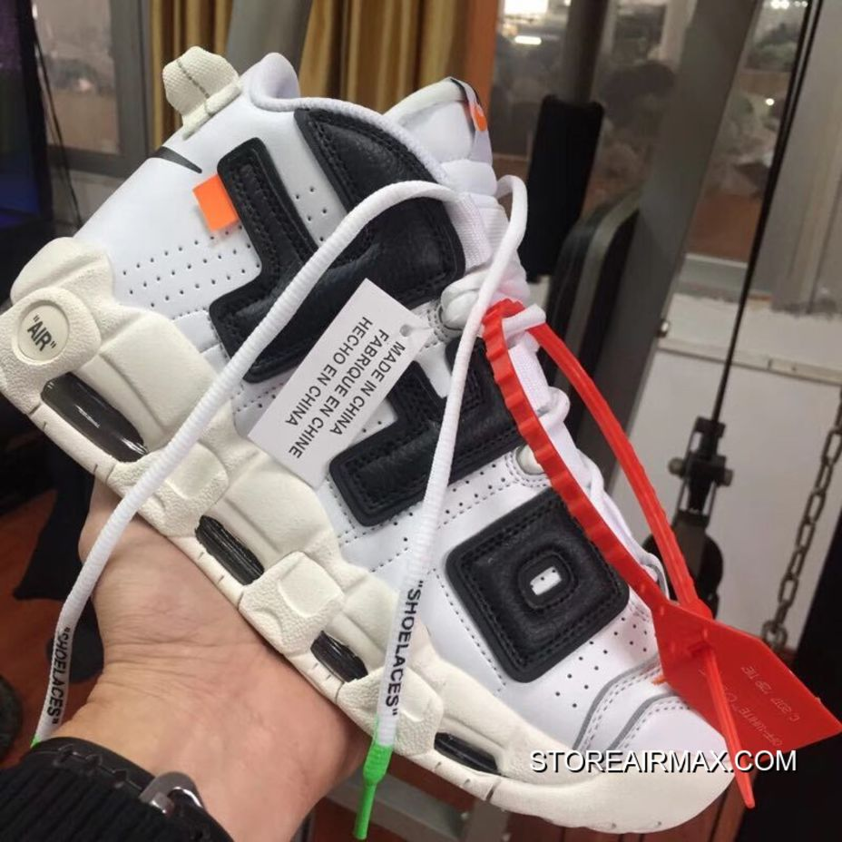 reputable site eeee7 59c81 Off-White X Nike Air More Uptempo For Sale