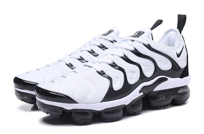 771b1b3ca4376 Nike Air VaporMax Plus White Black For Sale