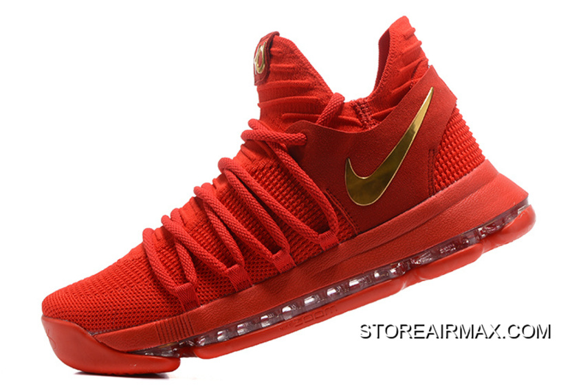 4fa4ad91007 Best Nike KD 10 Gym Red Gold
