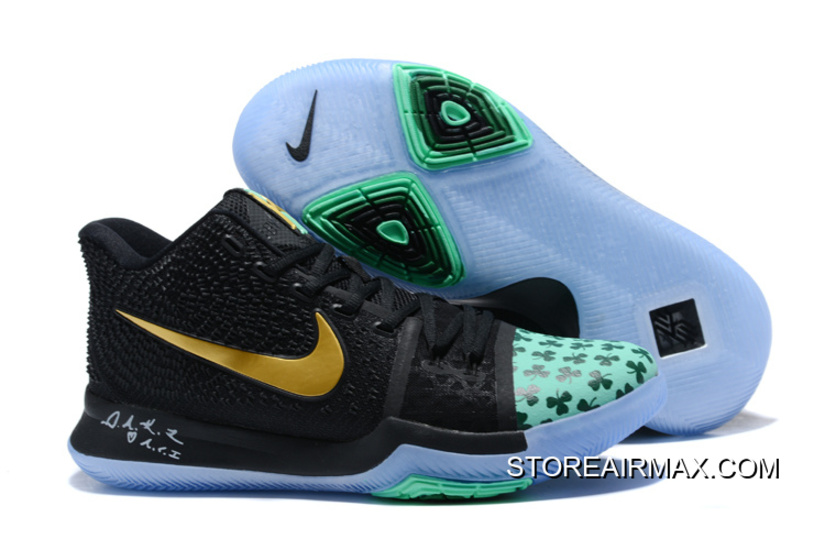 ... men nike kyrie iii weave basketball shoes 290 online only 49.76 73a44  20c33  order new release nike kyrie 3 shamrock pe bc5ec f44b5 72147d25c