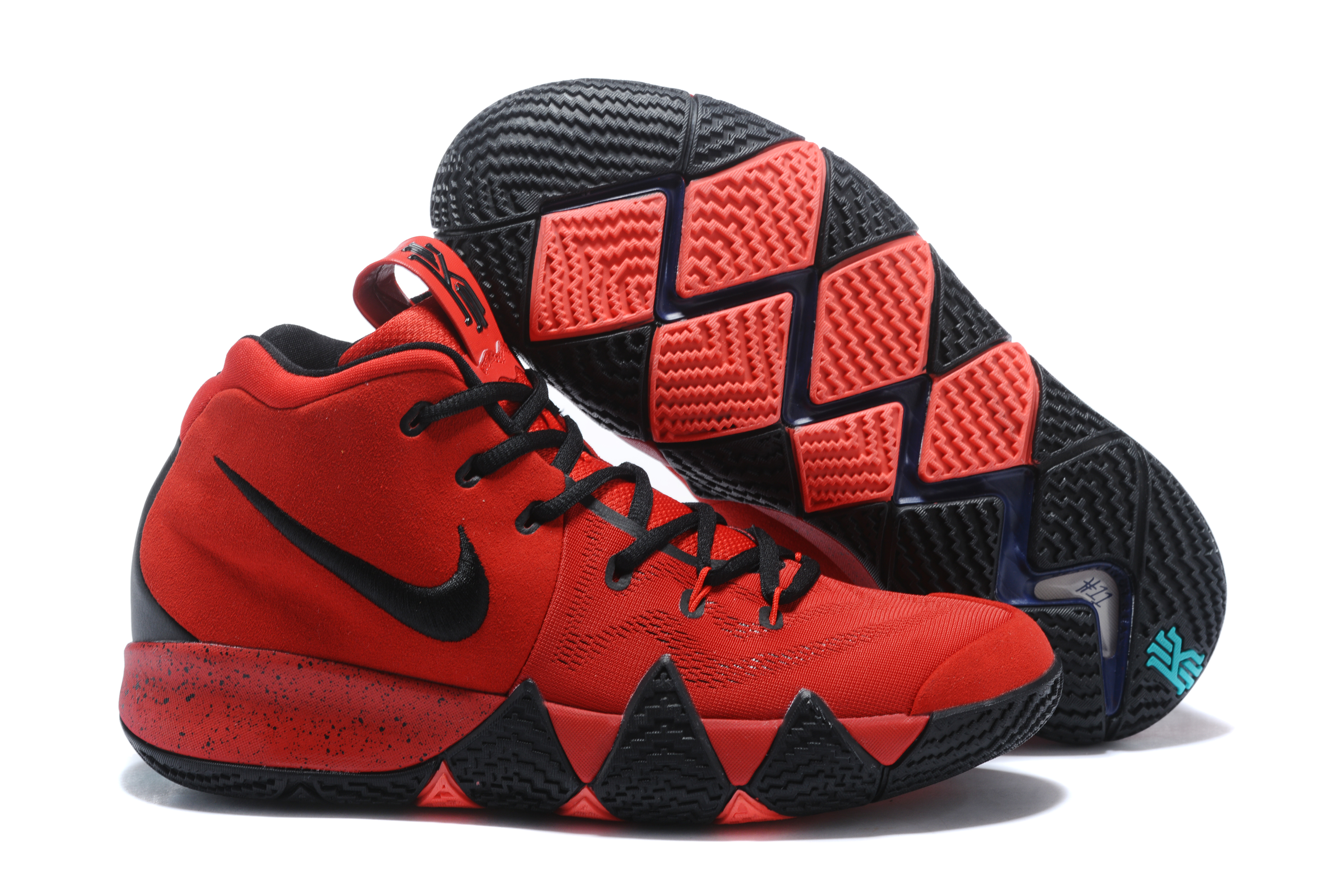 8c5029fa5272 Nike Kyrie 4 Red Black Outlet