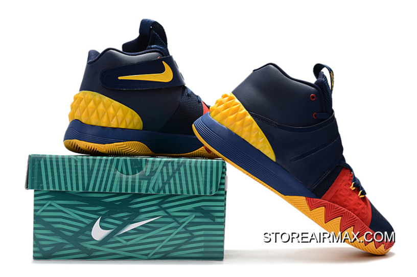 a1aacd1751fa Nike Kyrie S1 Hybrid Navy Blue Yellow-Red Copuon