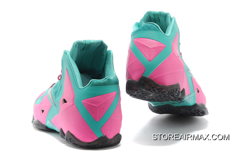 08108066e51 ... shopping nike lebron james 11 pink new green black for sale 68971 c916d