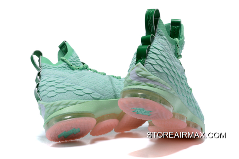 outlet store 9c2f1 6b1f2 Nike LeBron 15 Mint Green Pink Men s Basketball Shoes Where To Buy