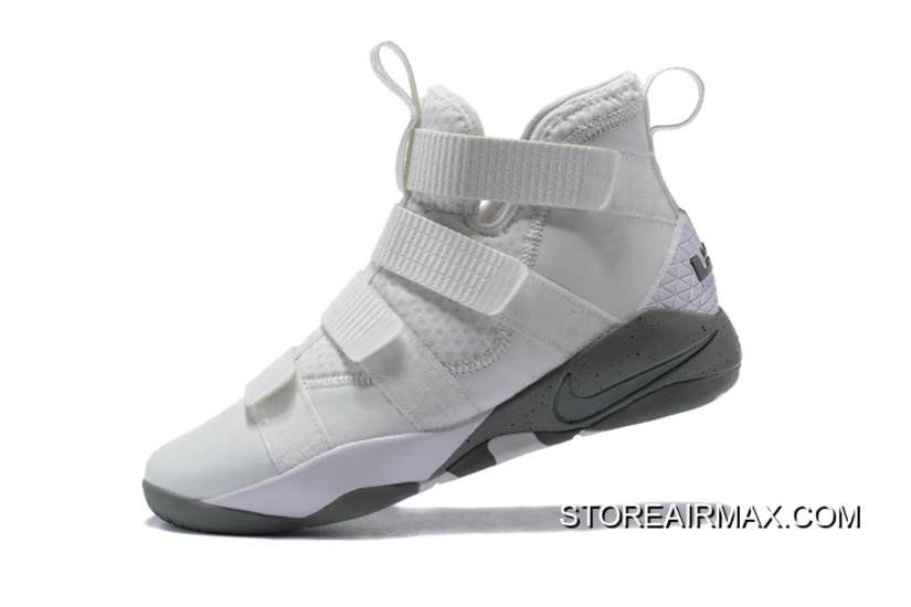 990b5744f9a0 Big Discount Nike LeBron Soldier 11 SFG Light Bone Dark Stucco-Black ...
