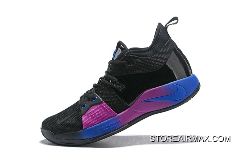 "3374a8deddf Nike PG 2 ""Flip The Switch"" Black Deep Royal Blue-Hyper Violet Free ..."